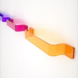 Asta porta salviette serie Adele | Plexiglass | 7 colori e 2 misure disponibili | Petrozzi